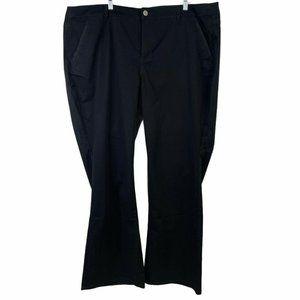 Lane Bryant Womens Pants Plus Size 26 Solid Black